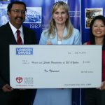 London Drugs presents donation of $10,000 to Heart & Stroke Foundation of B.C. & Yukon