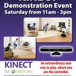 Kinect Demonstration Event!