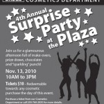 4th Annual Surprise Party at the Plaza
