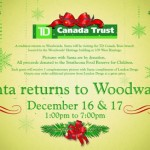 Santa Returns to Woodwards