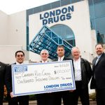 London Drugs presents $100,000 donation to the Canadian Red Cross