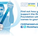 London Drugs is excited to partner with the Rick Hansen Foundation during its 25th Anniversary Relay across Canada!