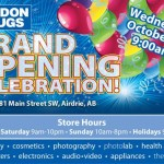 Grand Opening – London Drugs in Airdrie, Alberta!