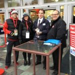 London Drugs provides wireless pin pads for donations to the Salvation Army