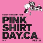 Pink Shirt Day is February 27