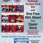 National Hockey Day – Jan. 18th, 2014