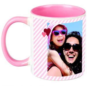 Choose your favourite photo to be placed onto one side of the mug.