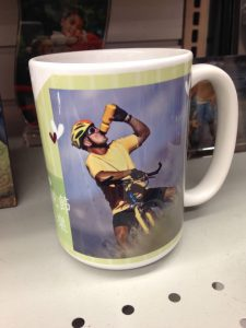 Photo mugs have come a long way. This mug shows how beautifully images can now be reproduced.