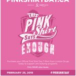 Pink Shirt Day is February 25, 2015