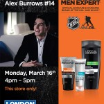 London Drugs hosts a Meet and Greet  with Alex Burrows, NHL Canucks Player
