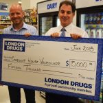 London Drugs Foundation donates $15,000 to Covenant House Vancouver