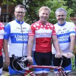 London Drugs rides for a reason for Canuck Place Children's Hospice