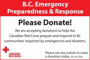BC Weather Relief 6x4