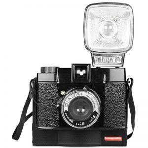 The Diana Instant Camera - Black - HP800INST. Just one of a number of film cameras in store