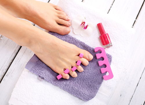 You can pull off your own perfect pedicure at home with a few tools and pointers.