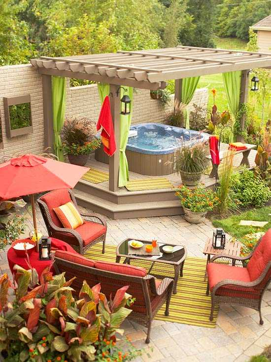 8 Beautiful Backyards to Drool Over - Hot Tub Heaven
