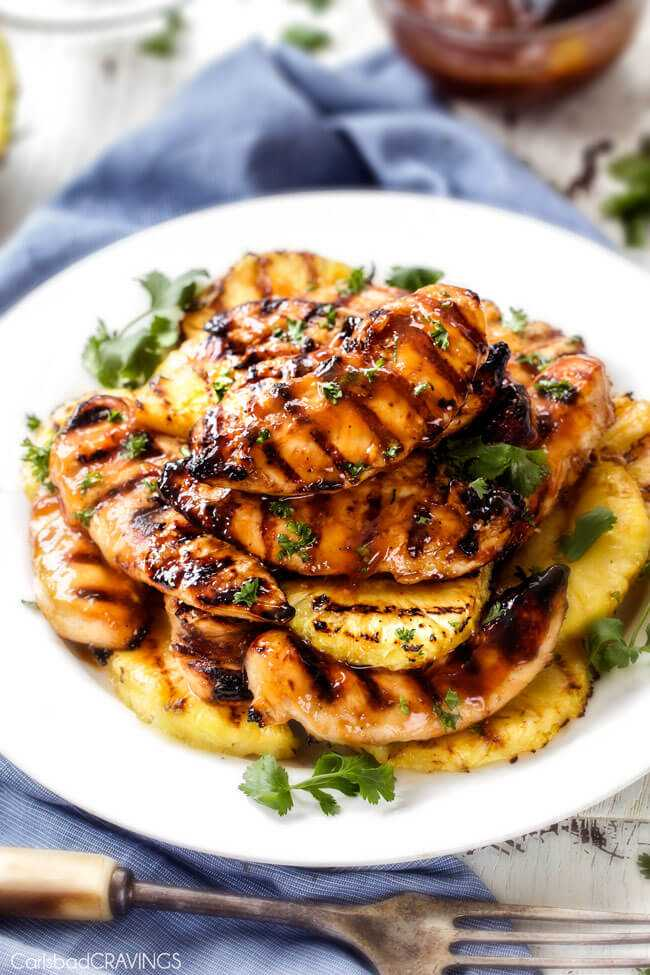 Brown Sugar Pineapple Chicken Outdoor Patio Recipe from London Drugs blog