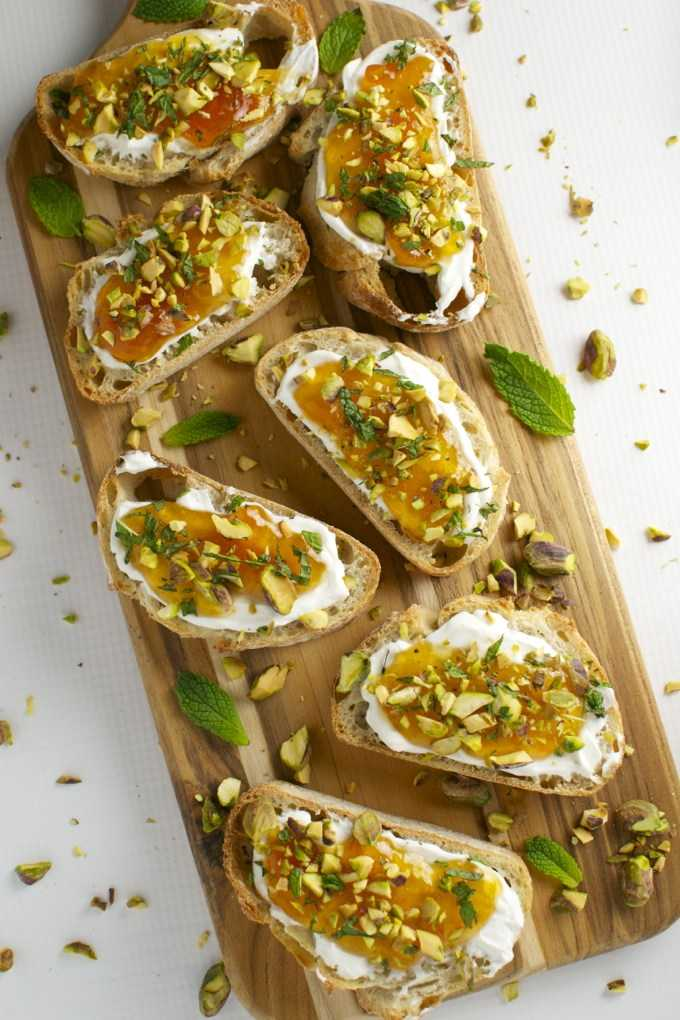 Goat Cheese and Apricot Crostini Outdoor Patio Recipe on the London Drugs blog
