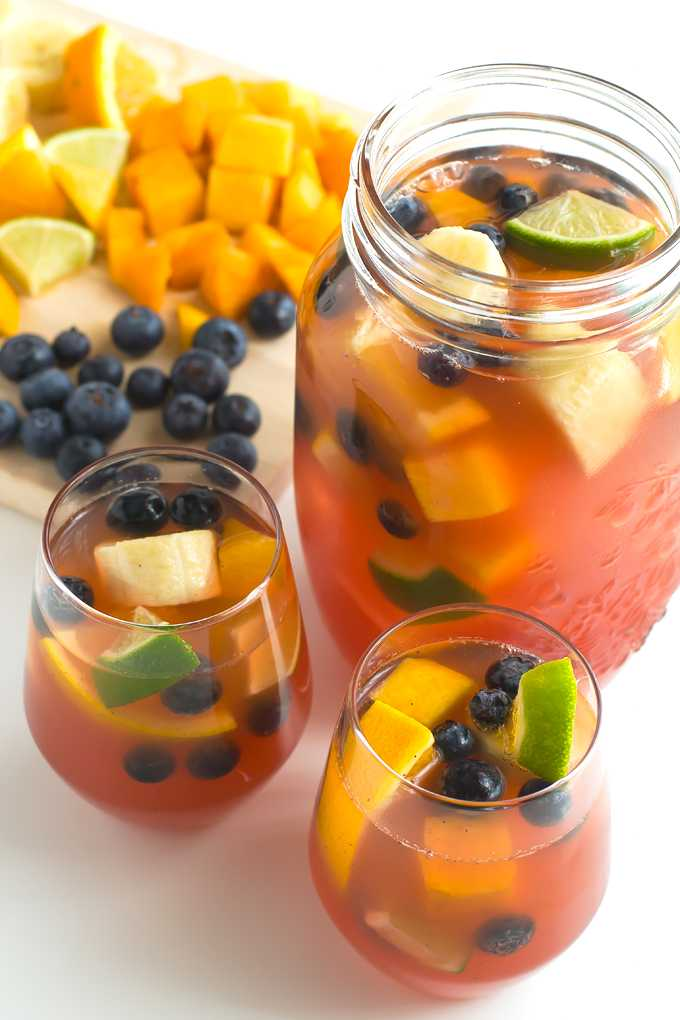 Non alcoholic sangria recipe on the London Drugs blog