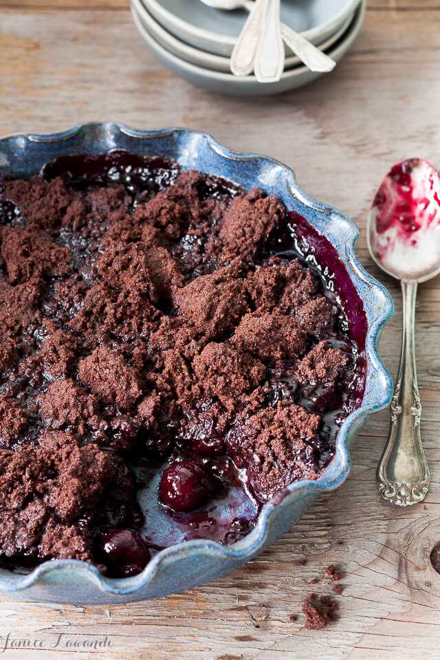 Cherry Chocolate Crumble - London Drugs Blog