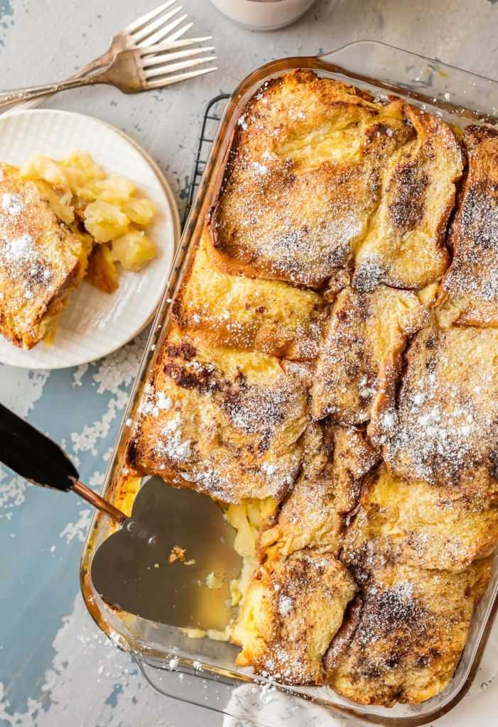 Overnight French Toast - Thanksgiving Host Ideas London Drugs