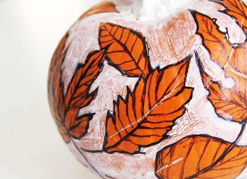 Sketched Pumpkin