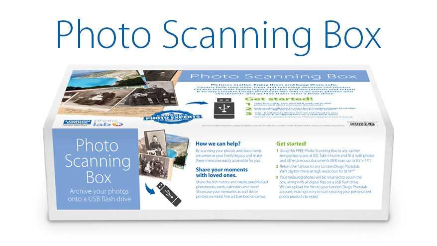 london drugs photolab photo scanning box