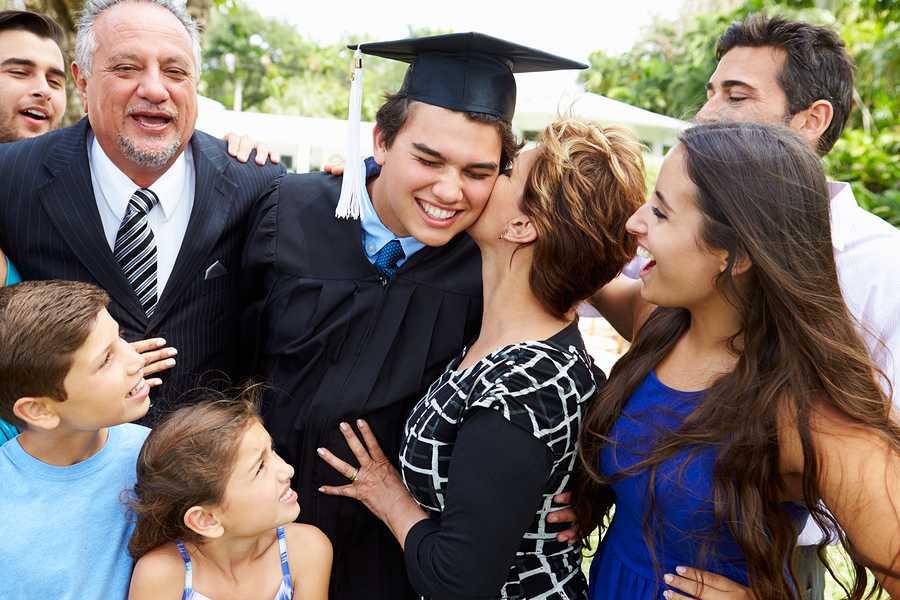 Grad Survival Kit - Family Photo