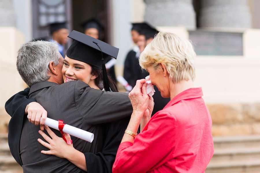 Grad Survival Kit - Hug from Parents