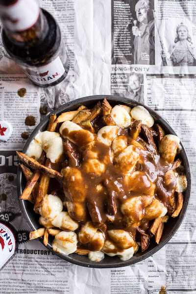 Canadian Recipes - Poutine