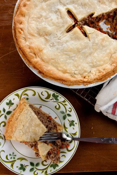 Canadian Recipes - Tourtiere