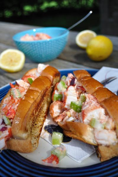 Canadian Recipes - Nova Scotia Lobster Rolls