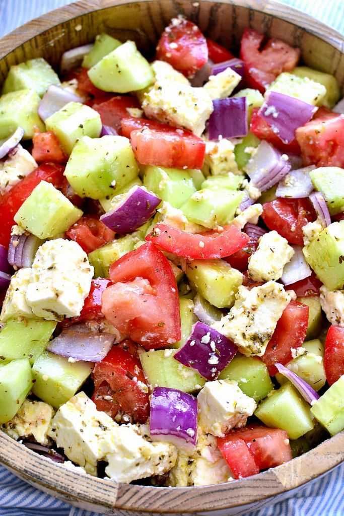 Tomato Cucumber Salad Outdoor Patio Recipes on the London Drugs blog
