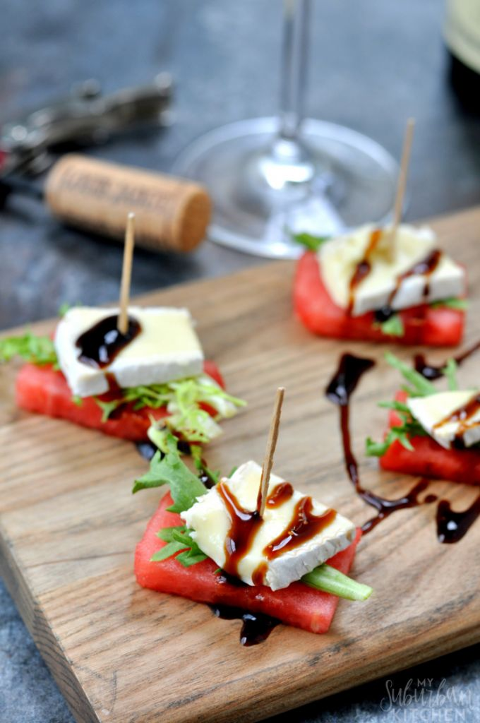 Watermelon Brie Bites Outdoor Patio Recipe on the London Drugs blog