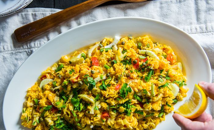 Instant Pot Recipe - Paella