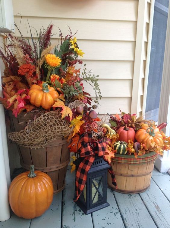 Fall Centerpiece Baskets - London Drugs Blog