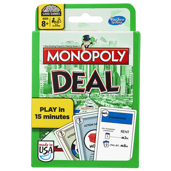 Gift Guide for Kids - Monopoly Deal