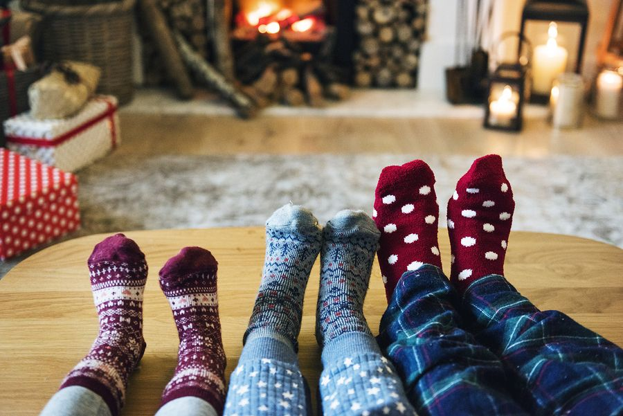 Family relaxing over Christmas - London Drugs blog