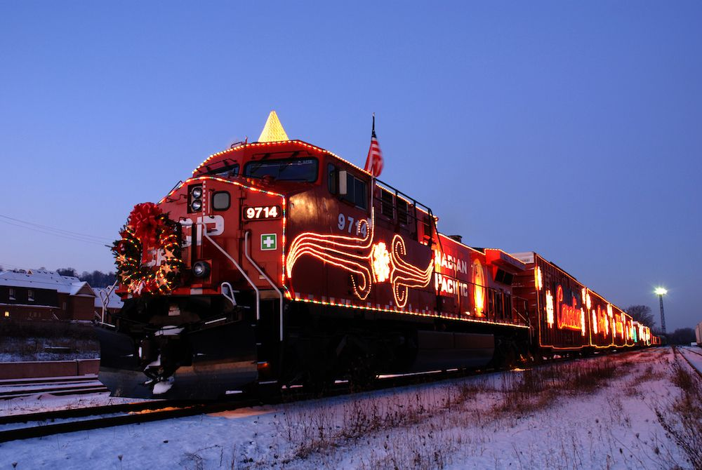 CP Holiday Train London Drugs