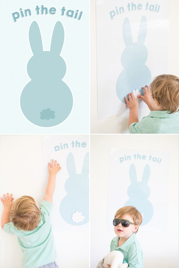 Easter DIY - Pin the Tail