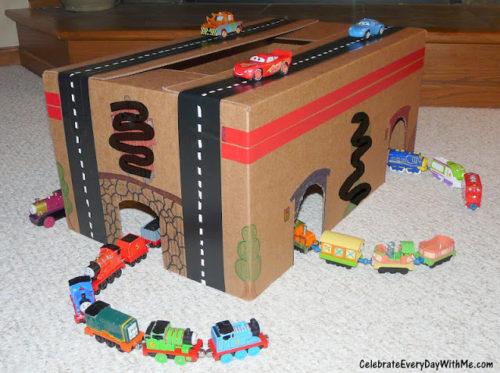 indoor activities - gas station