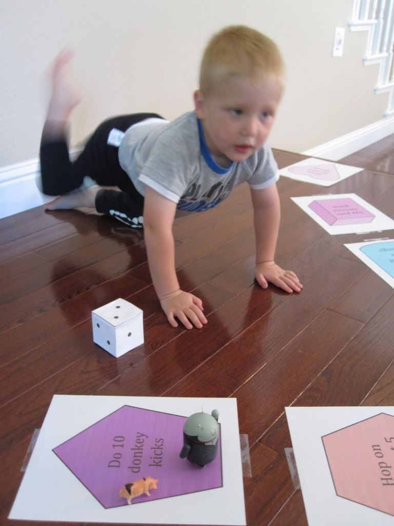 indoor activities - Volcano game