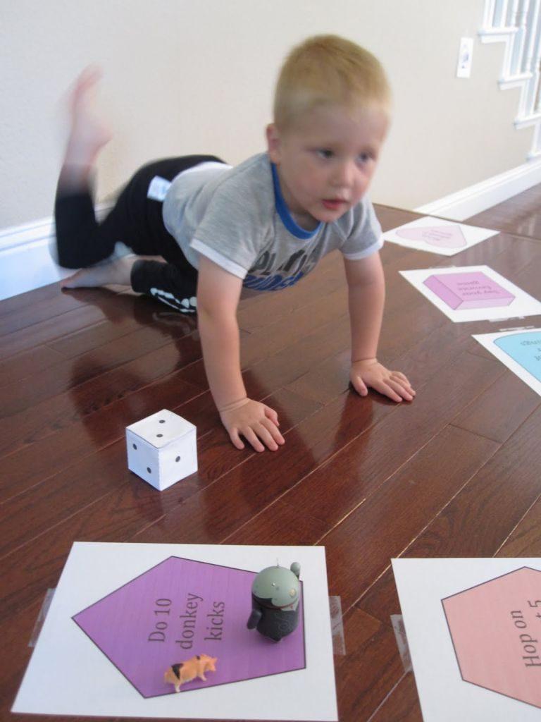 indoor activities - Volcano game