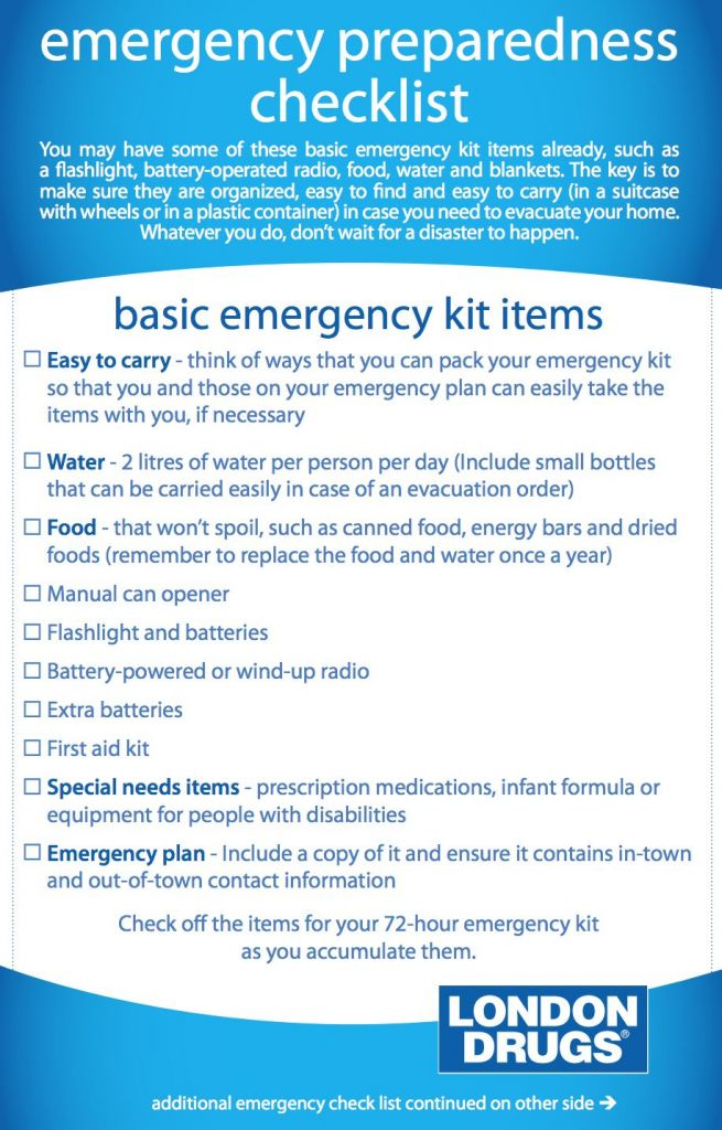 How To Build An Emergency Kit For All Types Of Disasters