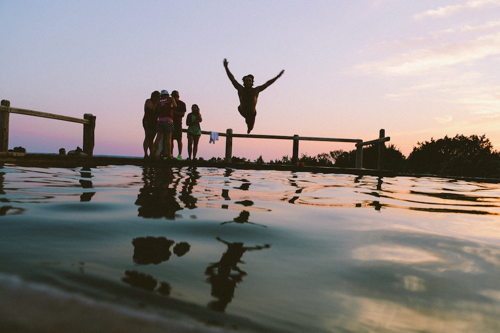 Jumping into Water End of Summer London Drugs Blog