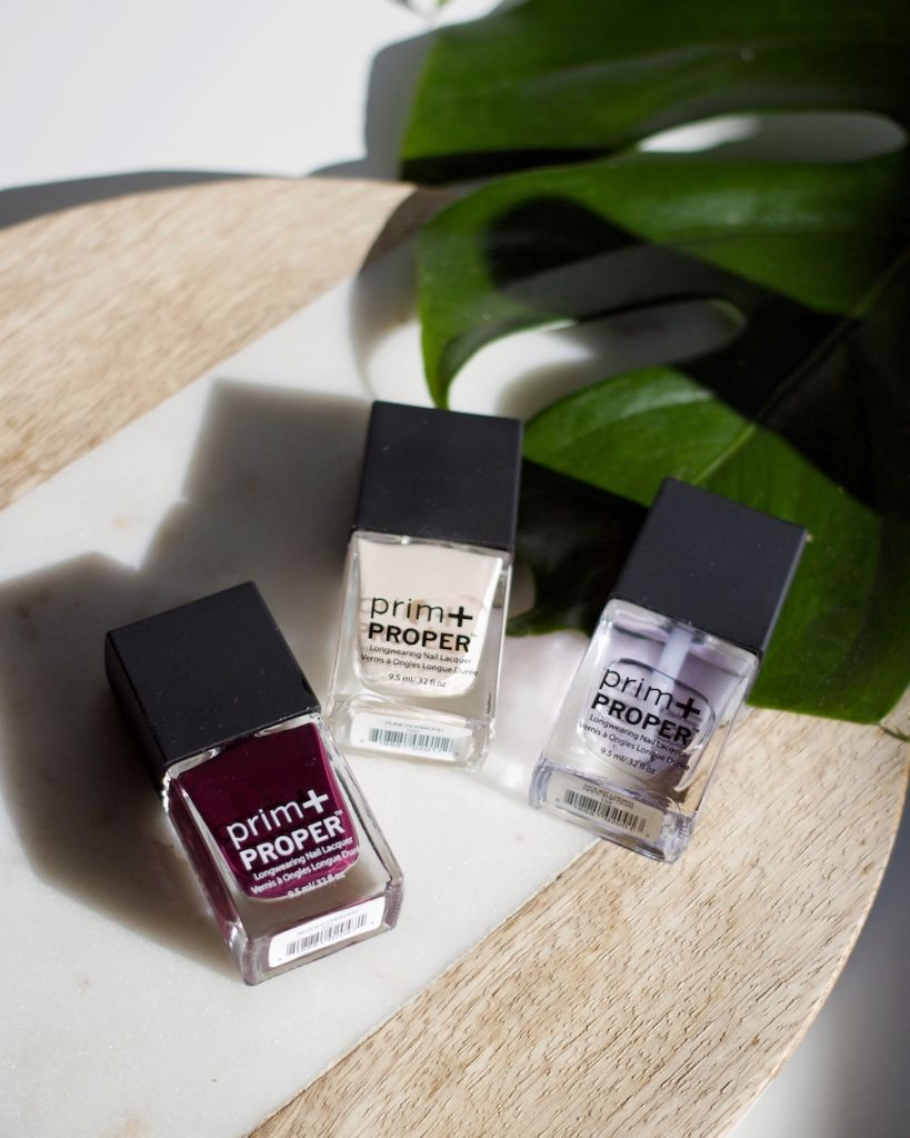 Drugstore Beauty Products: London Drugs Nail Lacquer Prim+Proper