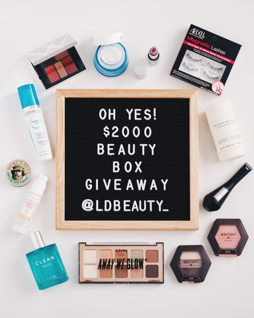 LD Beauty Box Worth $2000 London Drugs Giveaway