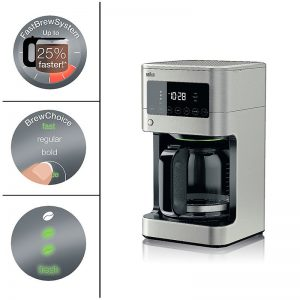 2018 Gifts for Trend Seekers - Braun Coffee Maker