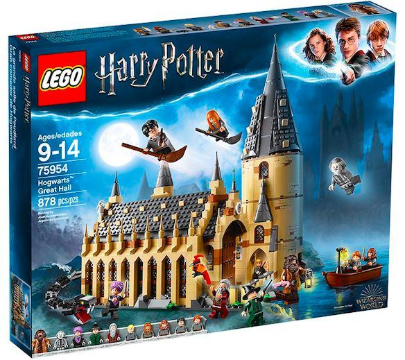 2018 Holiday Gift Guide for Kids - Harry Potter Hogwarts Great Hall