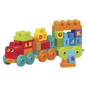 2018 Holiday Gift Guide Mega Bloks ABC Train